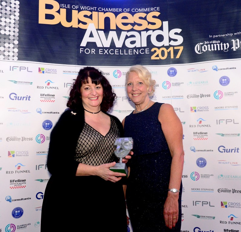 Sugar and Spice IOW Chamber of Commerce Business Awards