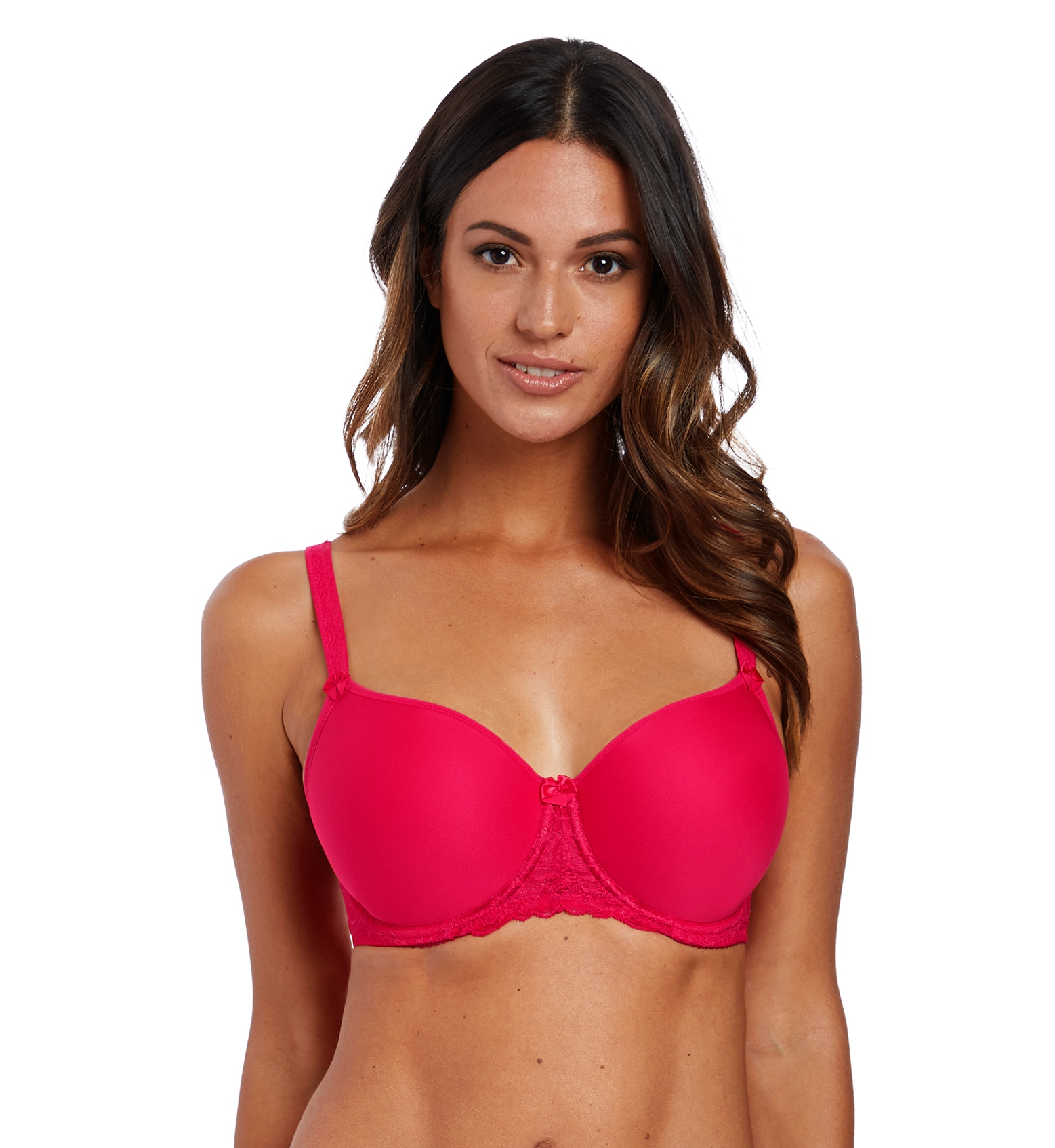 2f2ce00332 Fantasie Rebecca Lace Moulded Spacer Full Cup Bra -Red – Sugar and ...